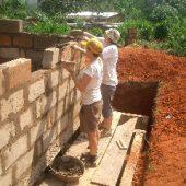 Building in Ghana