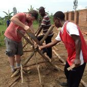 Volunteer in Rwanda with Love Volunteers Construction Program