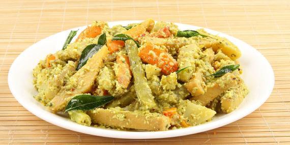 Aviyal vegetarian cuisine