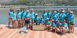 Sea turtle volunteers in Greece