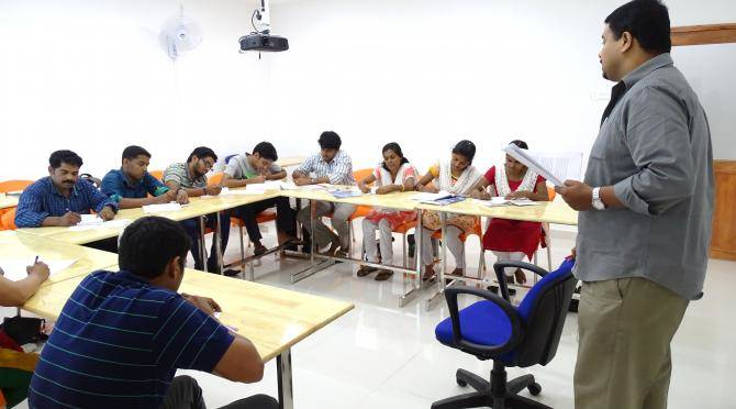 TEFL Students in class