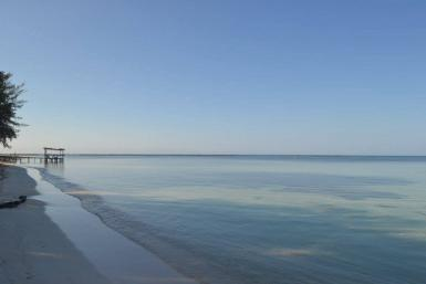 Calm waters in Cuba