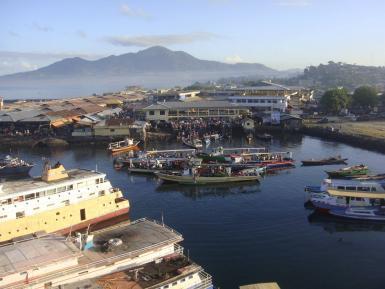 Marina of Manado