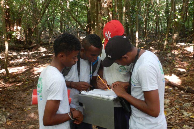 Orientation exercise for volunteers
