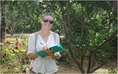 Sophie May Watts, previous intern on Elephant Conservation project in Sri Lanka