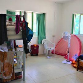 Volunteer room at house