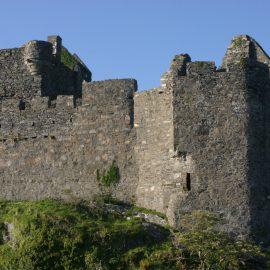Castle in Ullapool, Scotland