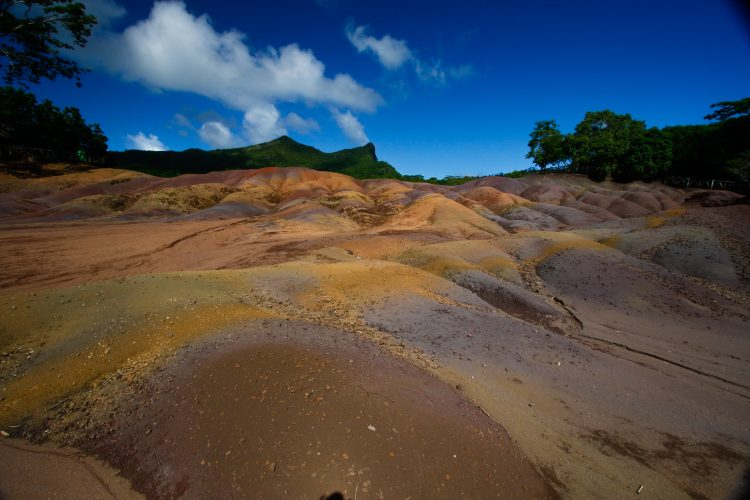 Seven earths in Mauritius