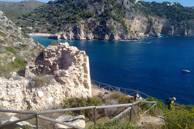 Denia coastline