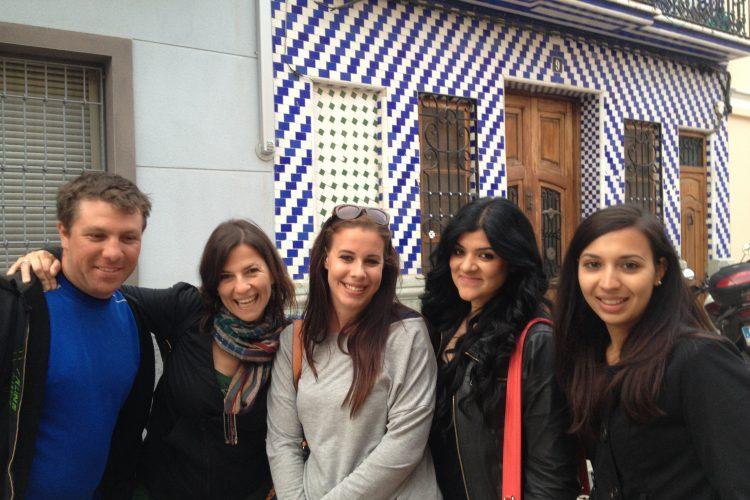 Volunteer group in Valencia
