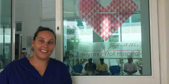 Medical volunteer in the Maldives