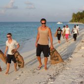 Eco Waste Management/Beach Cleanup Volunteers, Maldives