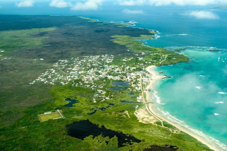 Isabela Island in Galapagos