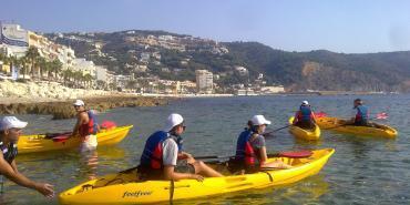 Marine Conservation volunteer kayak trip in Denia Conservation Volunteering | Volunteer in Spain | Working Abroad