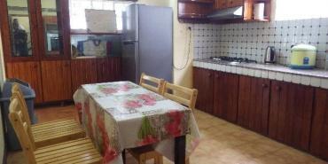 Kitchen in volunteer house Mauritius