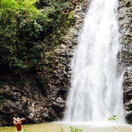 Montezuma waterfalls in Costa Rica