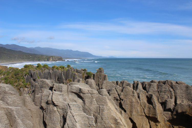 Pancake Rocks in Punakaiki New Zealand