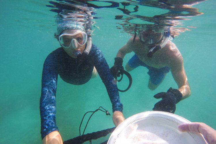 Reef Buddy volunteer Elisa