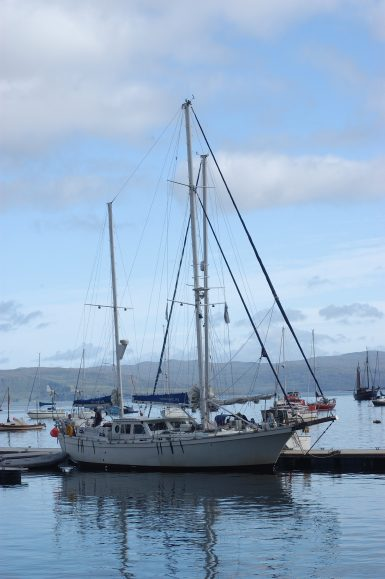 Research boat silurian in Scotland
