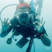 Shanna Clark, 8 week Eco Divemaster Programme