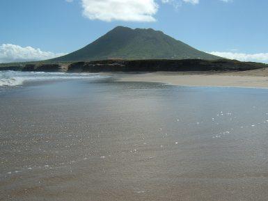 Volcano on St Eustatius