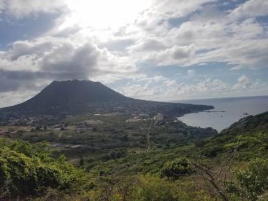St Eustatius landscape with clouds St Eustatius Volunteering | Working Abroad