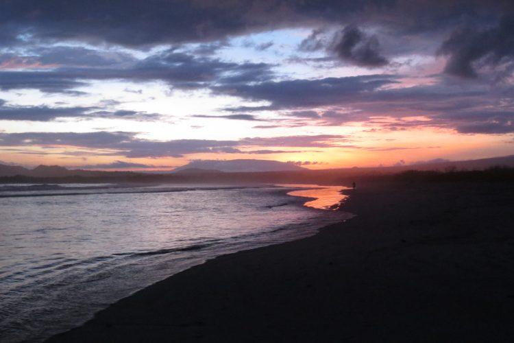 Galapagos islands sunset