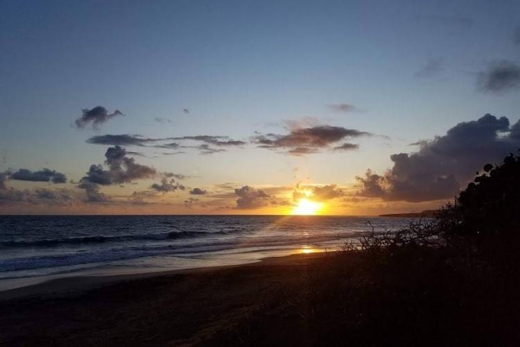 Sunset on St. Eustatius