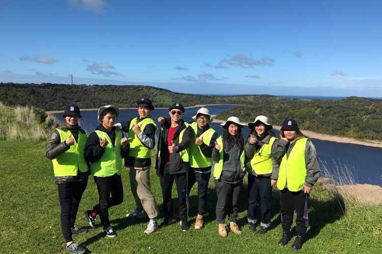 Volunteers at Tower Hill, Australia