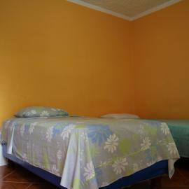 Volunteer house bedroom in Galapagos