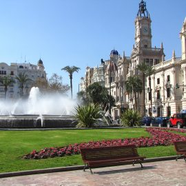Valencia city square