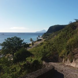 Coastline in St Eustatius
