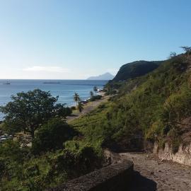 Coastline in St Eustatius