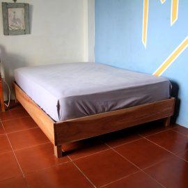 Bedroom for volunteers in Galapagos