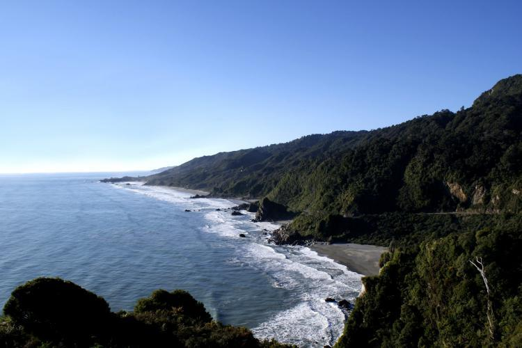 West coast in New Zealand