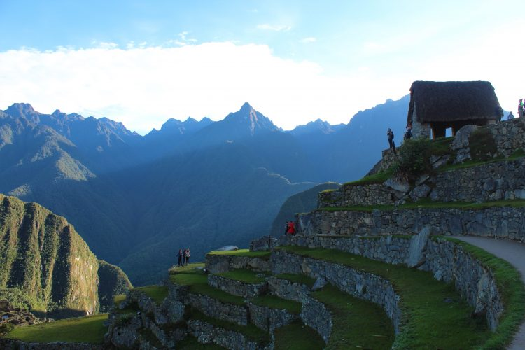 Agricultural plains Machu Picchu