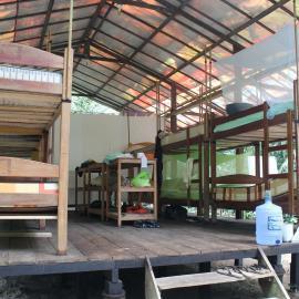 Amazon accommodation for volunteers