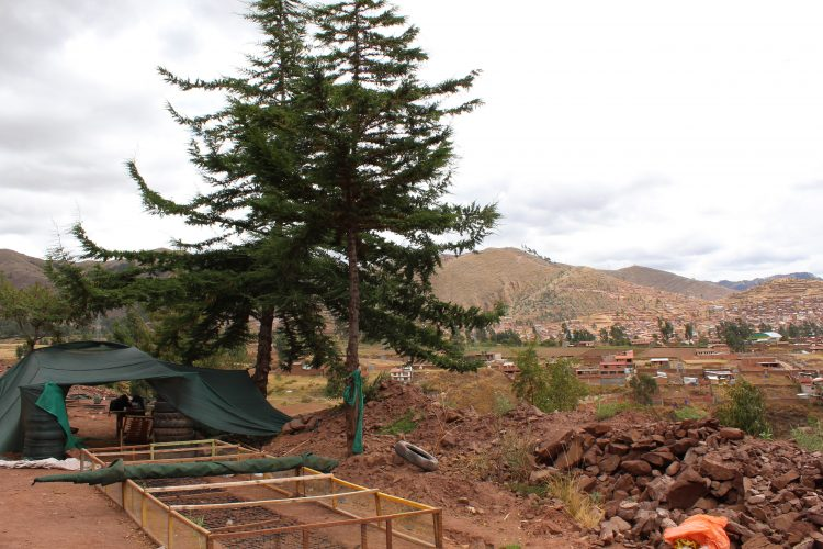 Conservation project site Cusco