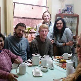 Host family in Cusco