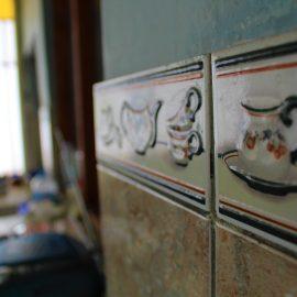 Host family kitchen tiles