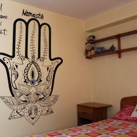 Host family student room