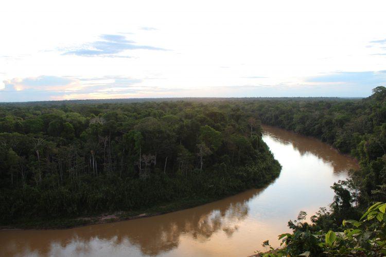 Las Piedras from above