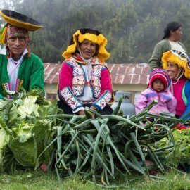 Locals from the Andes