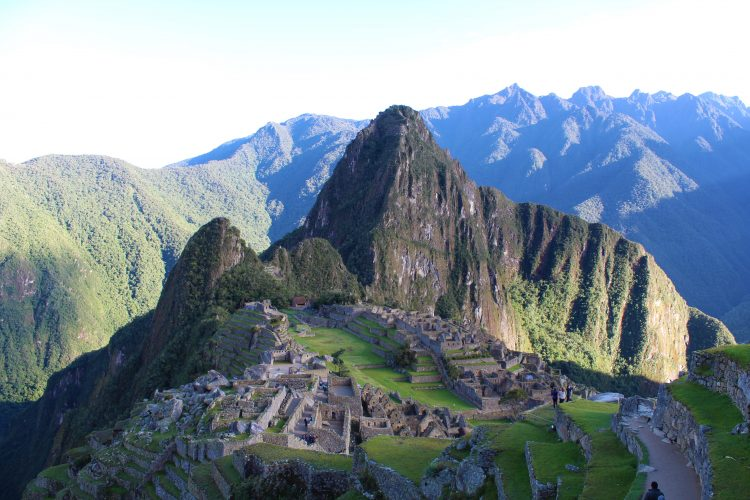 Machu Picchu from distance