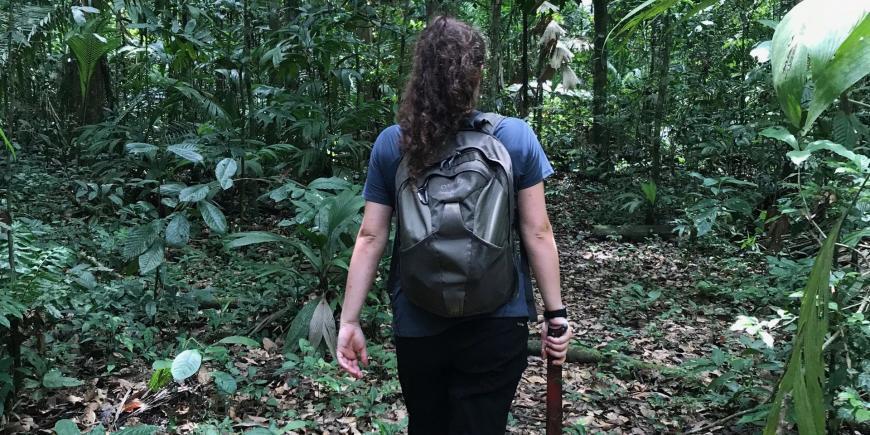 Research intern Amazon Peru