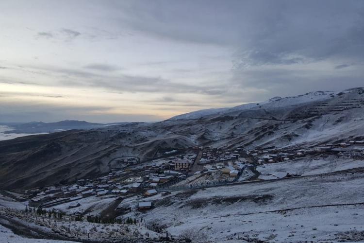 Omacha snow landscape