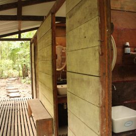 Camp toilets and showers