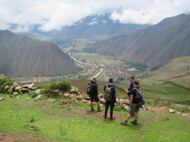 View of Sacred Valley