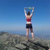 Amanda Nevin, an Ecology student from Ireland
