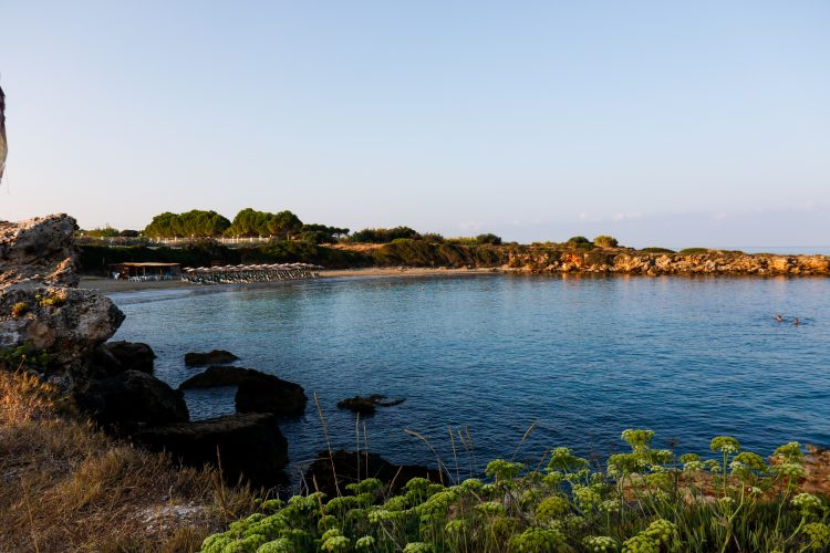Beach cove in Argostoli